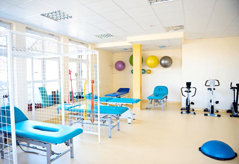 sala gimnastyczna w centrum rehabilitacji RST
